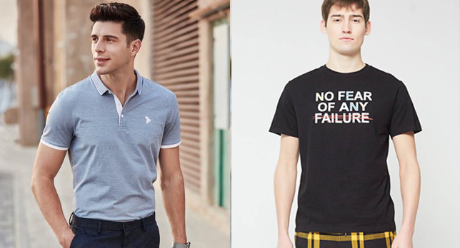 高端t恤定制和高端polo衫定制到底哪里有什么不同?