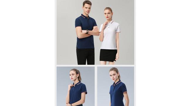 高端POLO衫定制每个人都抱有不一样的潮流看法